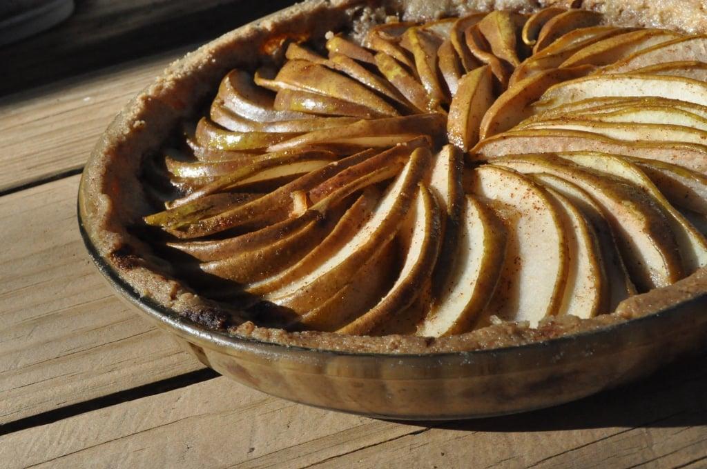 paleo pear tart