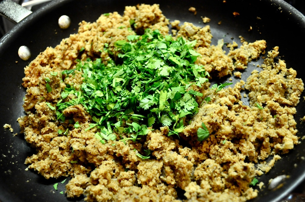 cilantro and cauliflower rice