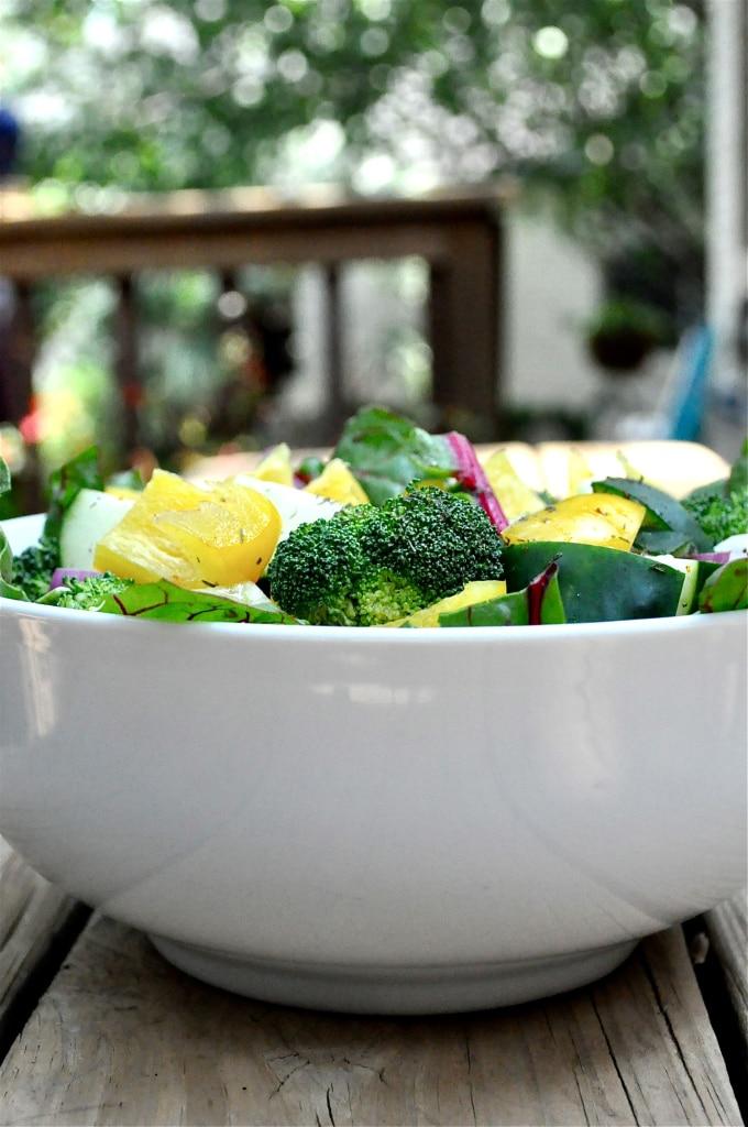 dill chicken summer salad