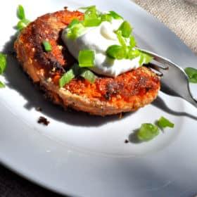 Paleo Sweet Potato Fritters