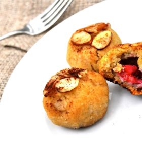 Paleo Raspberry Almond Cookies
