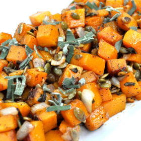 Roasted Pumpkin Seed & Sage Butternut Squash