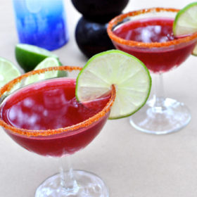 Spicy Pomegranate Martini