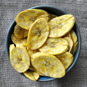 Paleo Plantain Chips