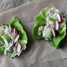 Paleo Creamy Tuna Salad