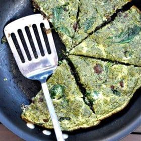 Green Eggs & Ham Paleo Frittata