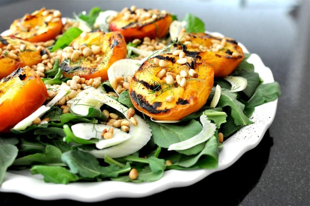 Grilled Peach & Fennel Salad