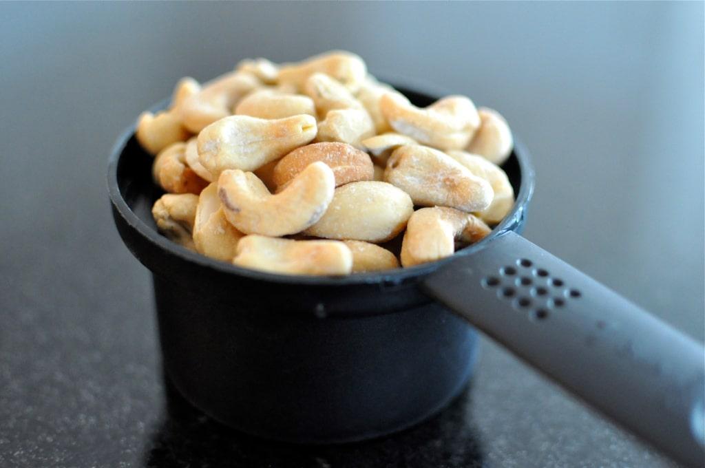 Cashews for Paleo Blueberry Scones