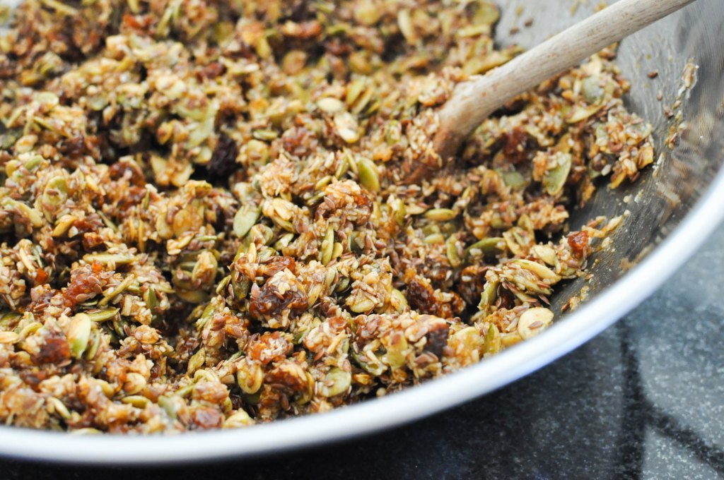 Paleo Pumpkin Spice Granola | Fed and Fit-40