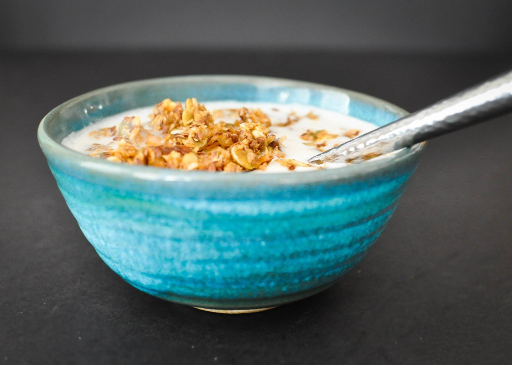 Paleo Pumpkin Spice Granola | Fed and Fit-5