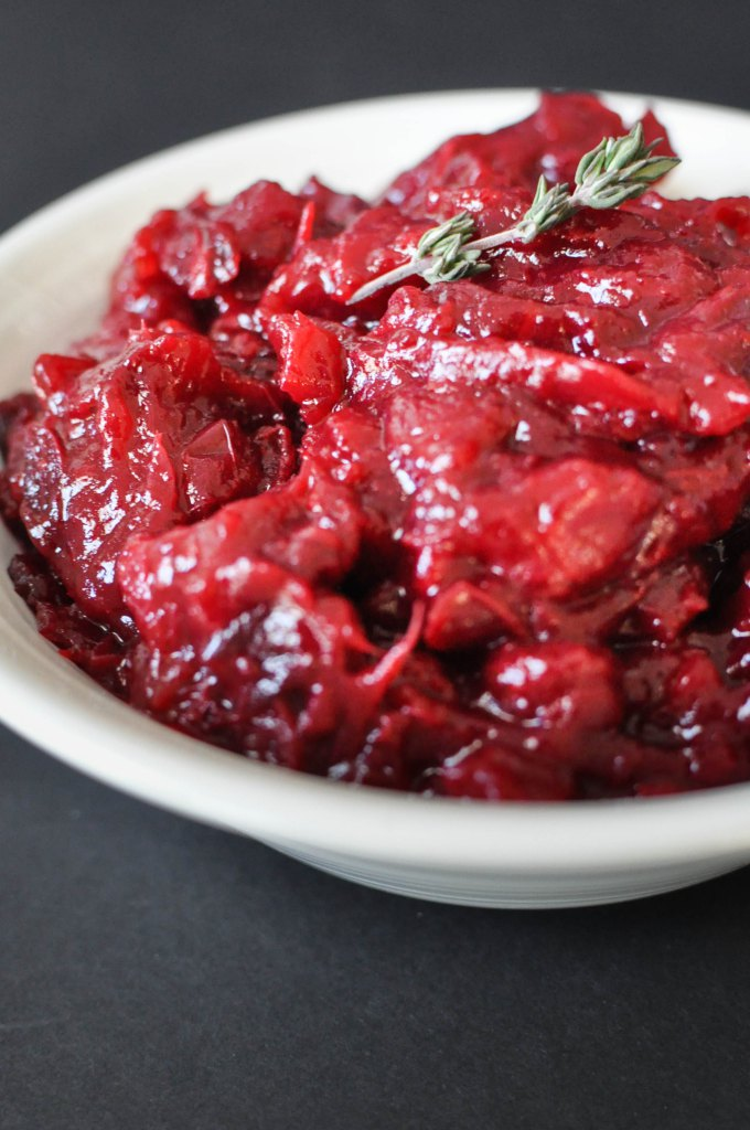 Easy Homemade Paleo Cranberry Sauce   Fed+Fit-30
