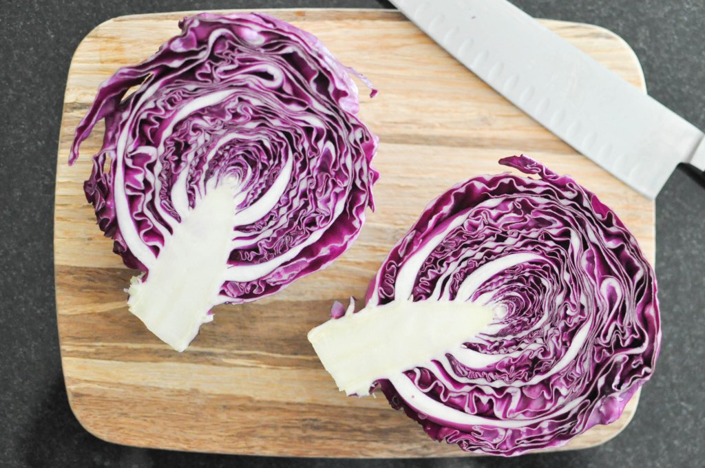 Gather's Roasted Green and Purple Cabbage | Fed+Fit-12