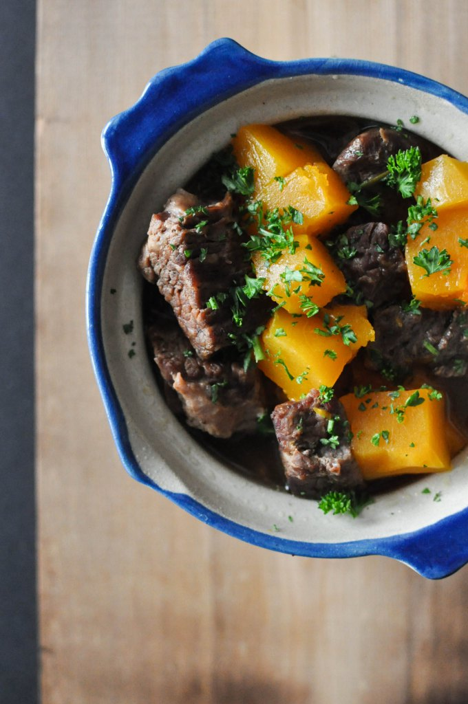 Paleo Winter Squash and Beef Stew | Fed+Fit-1