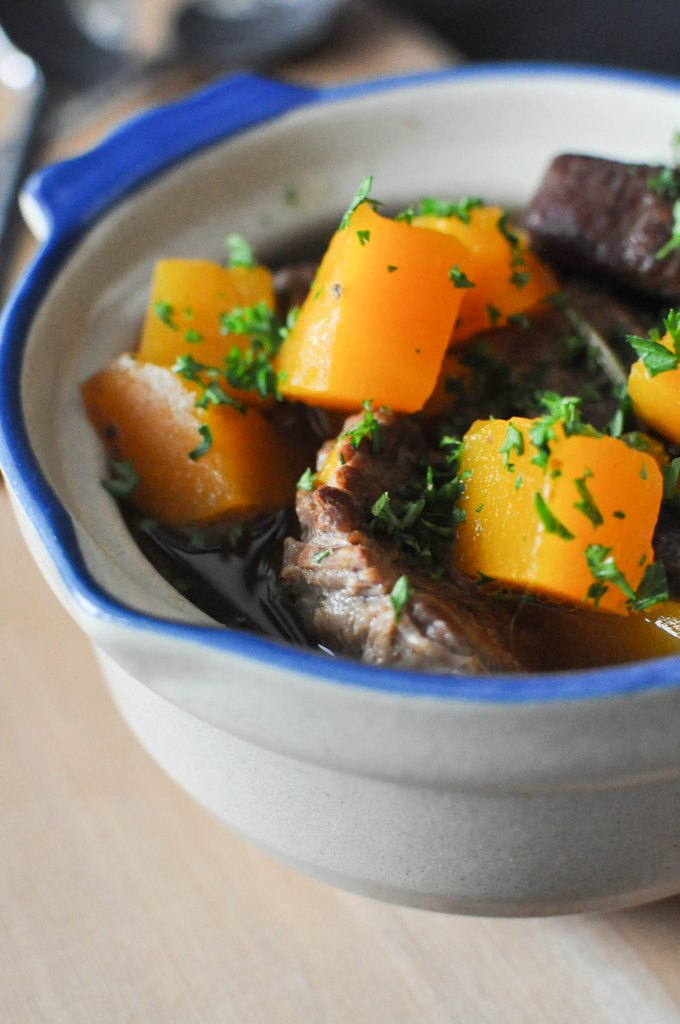 Paleo Winter Squash and Beef Stew | Fed+Fit-5