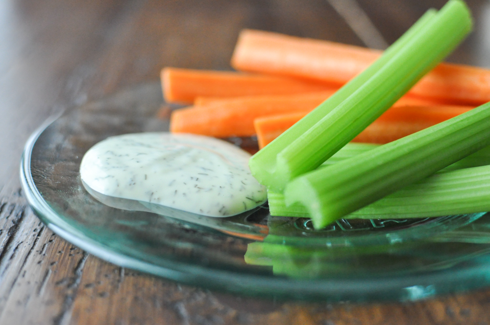 5 Ingredient Paleo Ranch Dressing | Fed and Fit-3