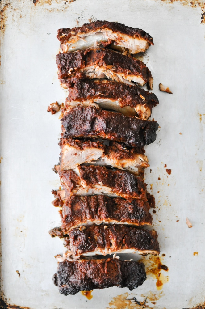BBQ Slow-Cooker Baby Back Ribs | Fed and Fit-17