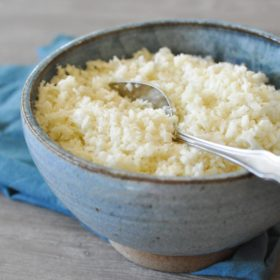 Basic Cauliflower Rice
