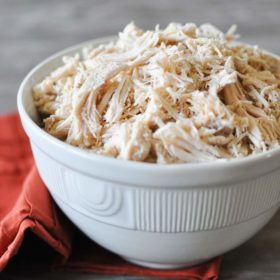 Basic Slow Cooker Shredded Chicken