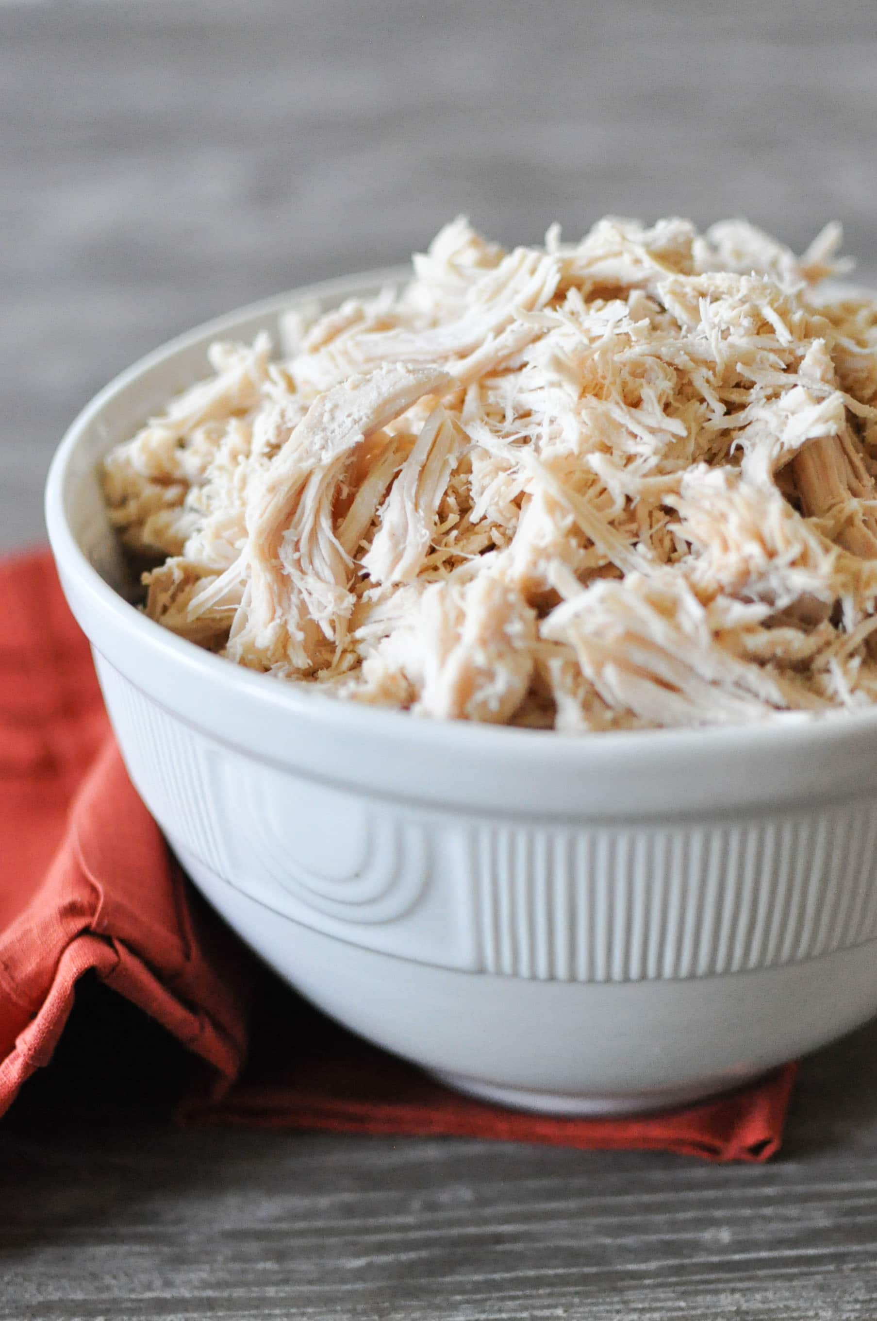 Slow Cooker Shredded Chicken | Fed+Fit