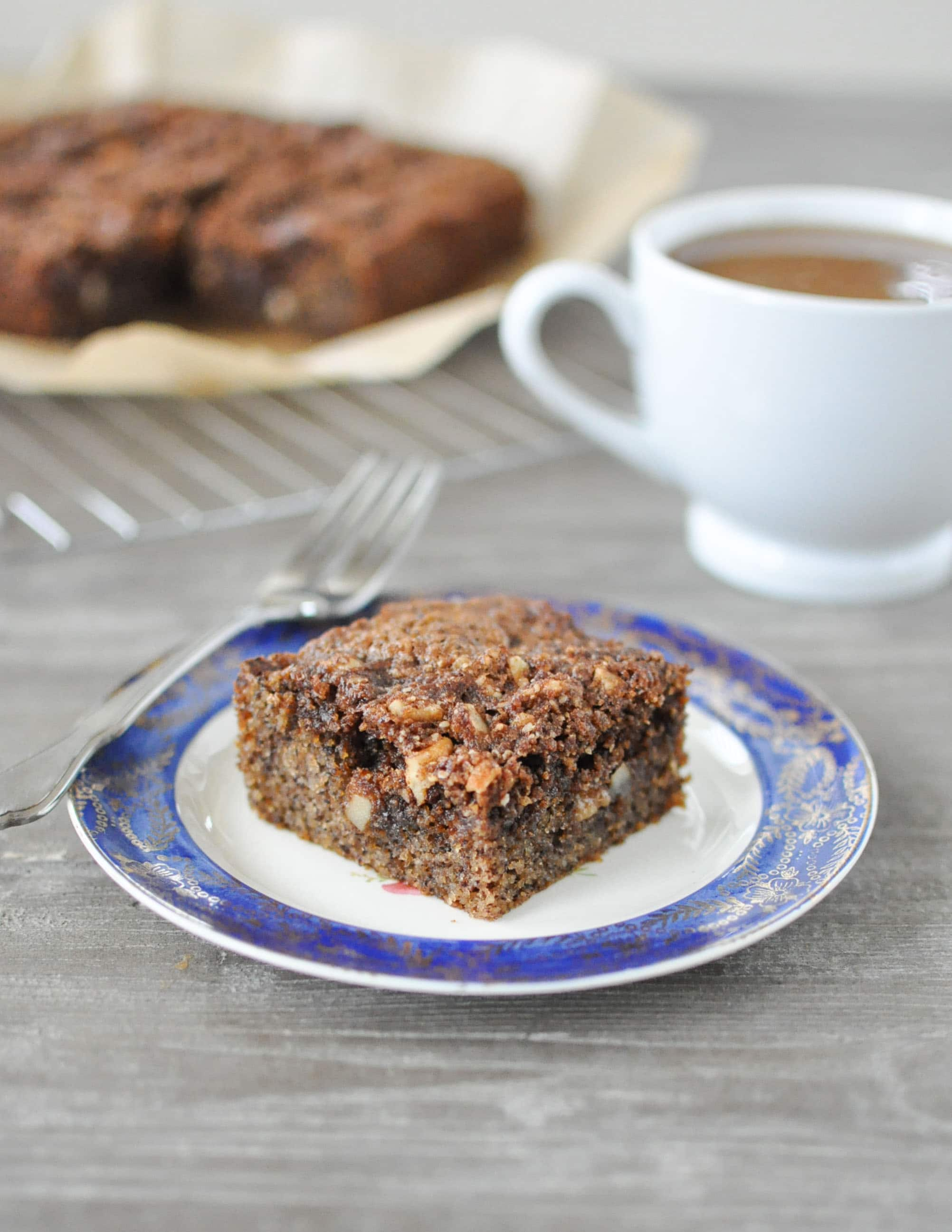 Hazelnut Coffee Cake | Fed and Fit-5