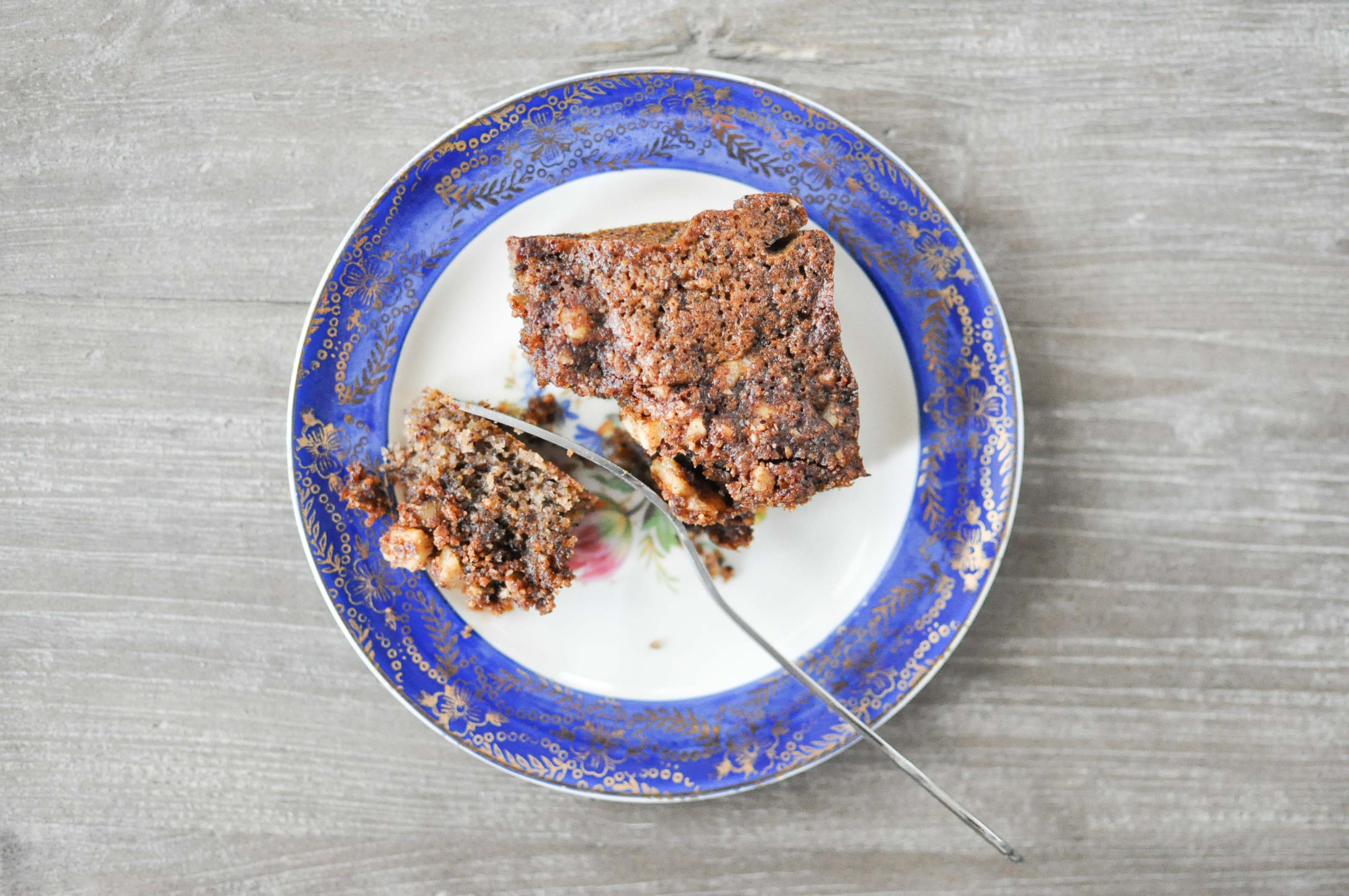 Hazelnut Coffee Cake | Fed and Fit-7