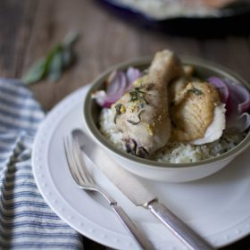 Guest Post: Browned Butter Sage Roasted Chicken