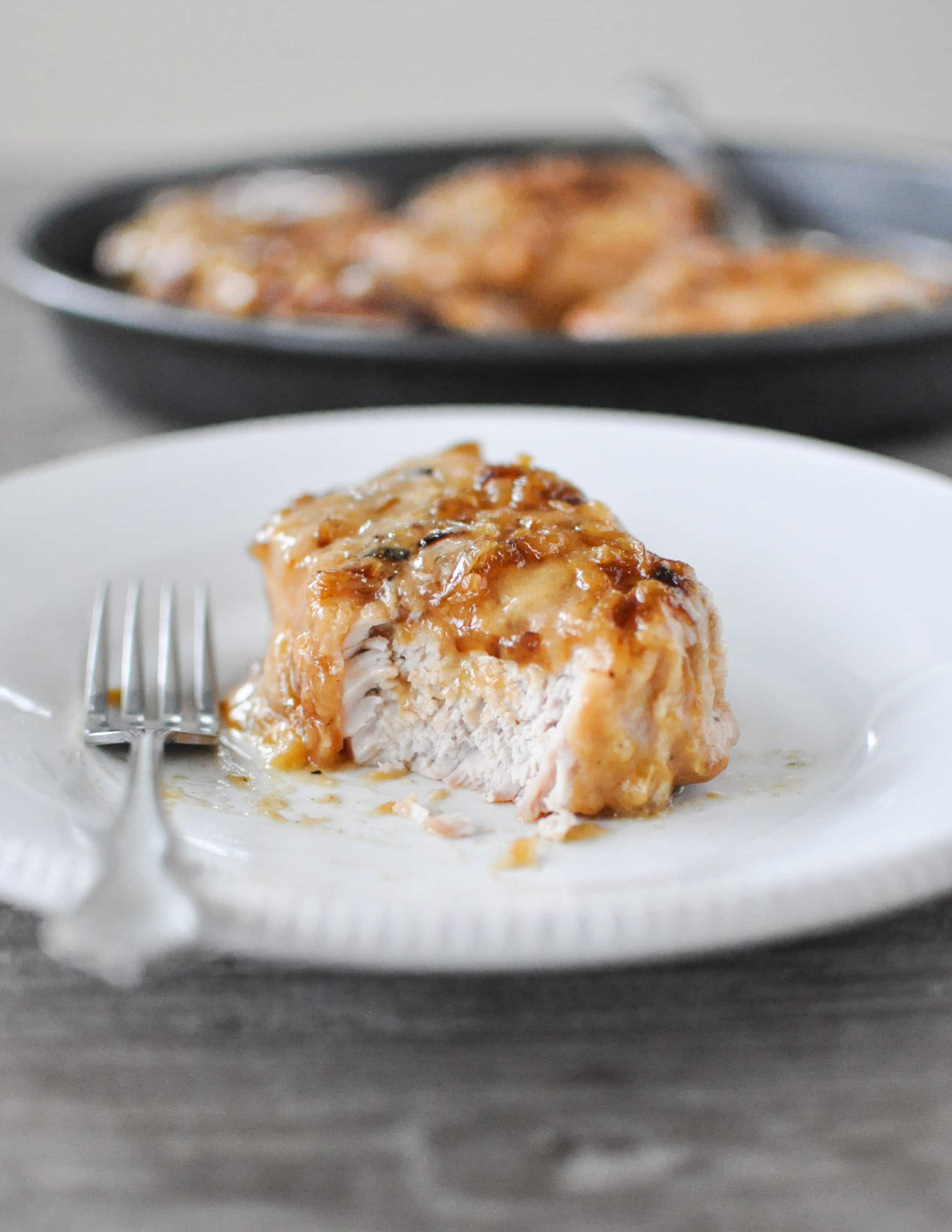 Fed+Fit Slow Cooker Smothered Pork Chops-5