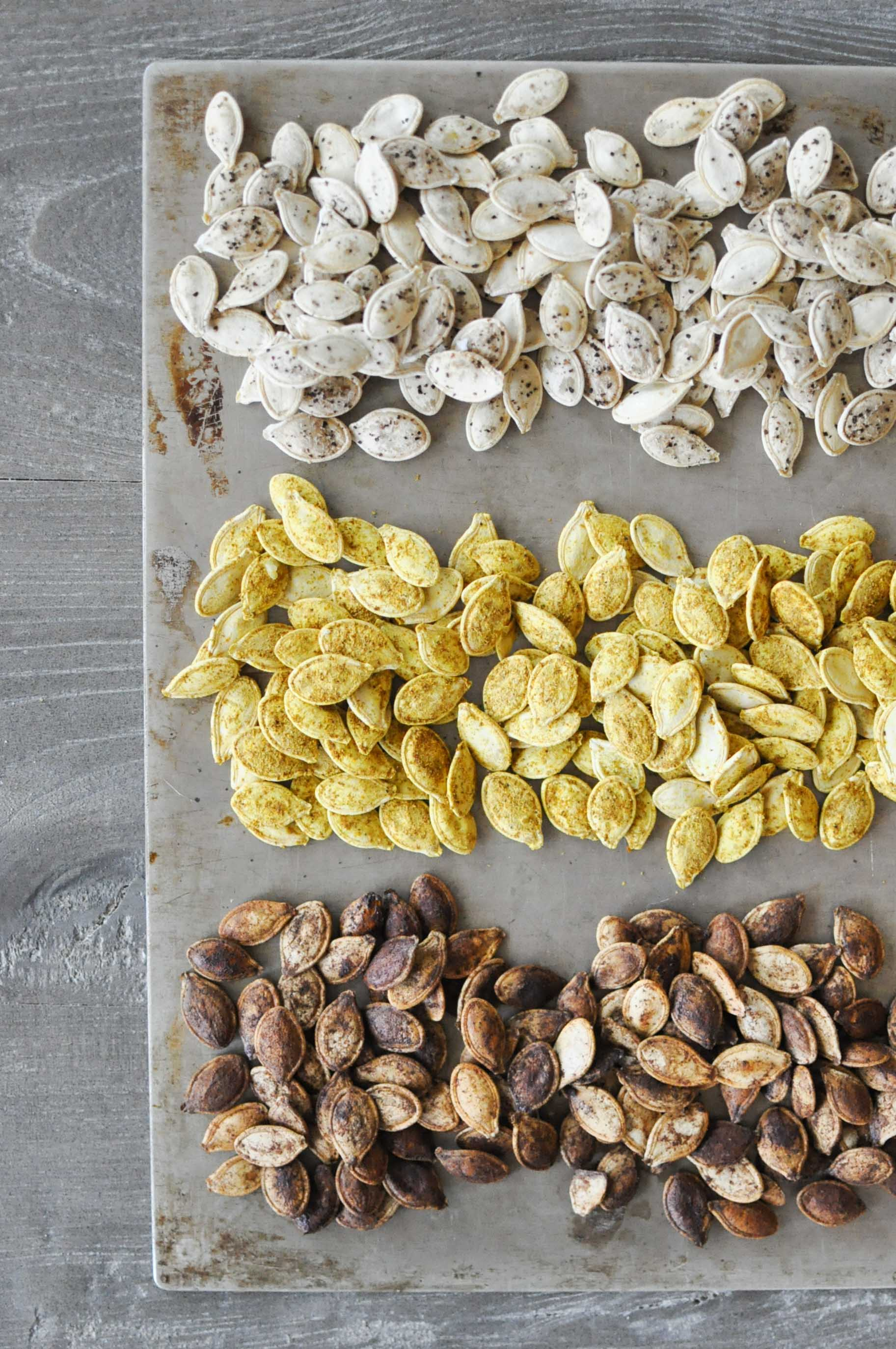 Perfect Homemade Pumpkin Seeds in 3 Flavors | Fed+Fit-13
