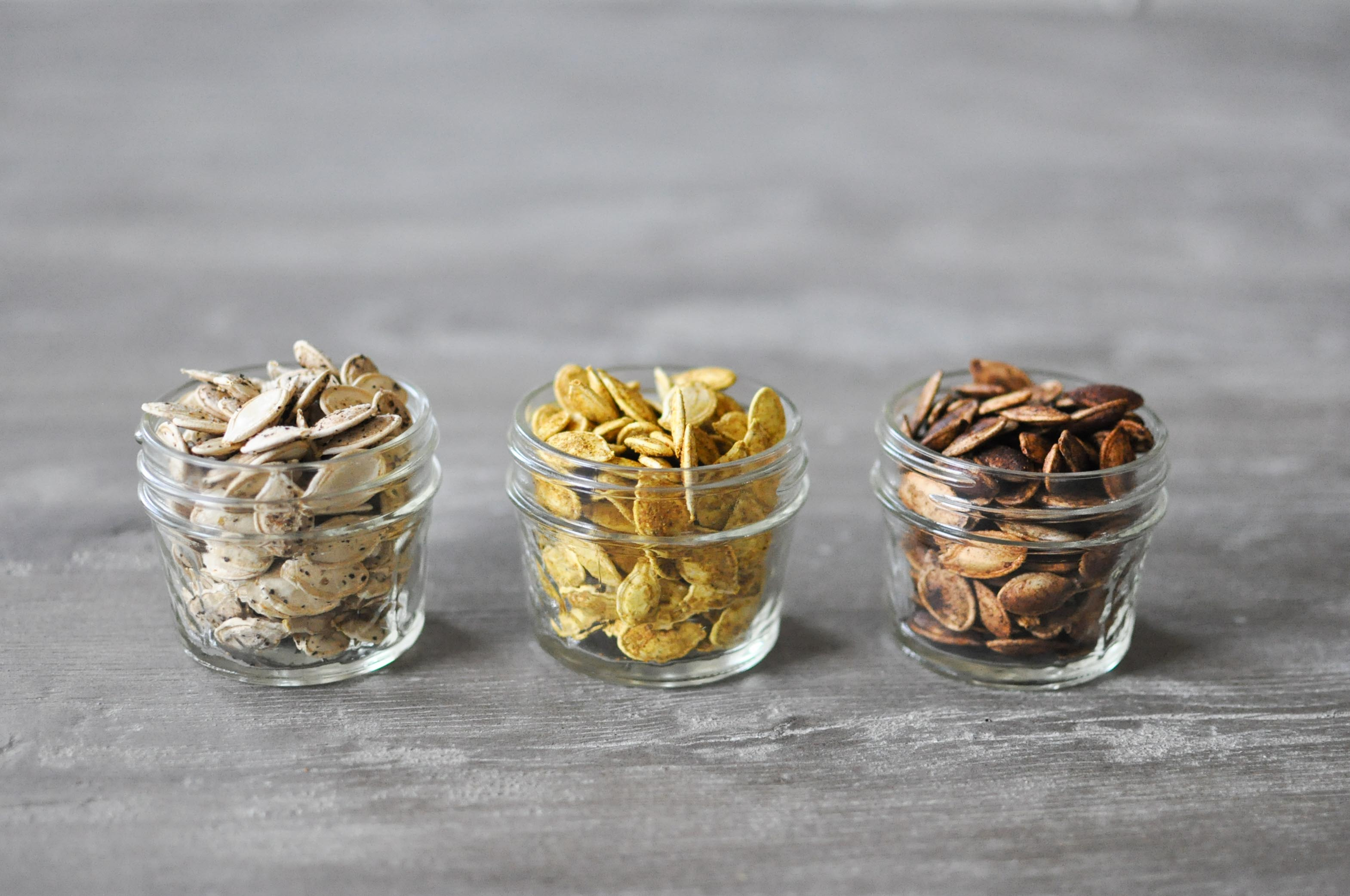 Perfect Homemade Pumpkin Seeds in 3 Flavors | Fed+Fit-15