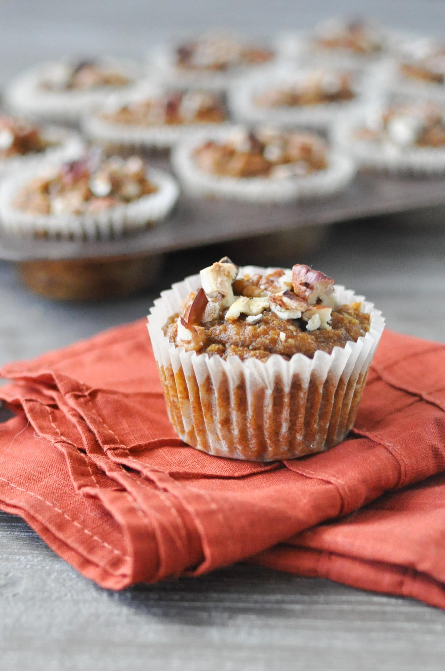 Pumpkin Pie Banana Nut Muffins