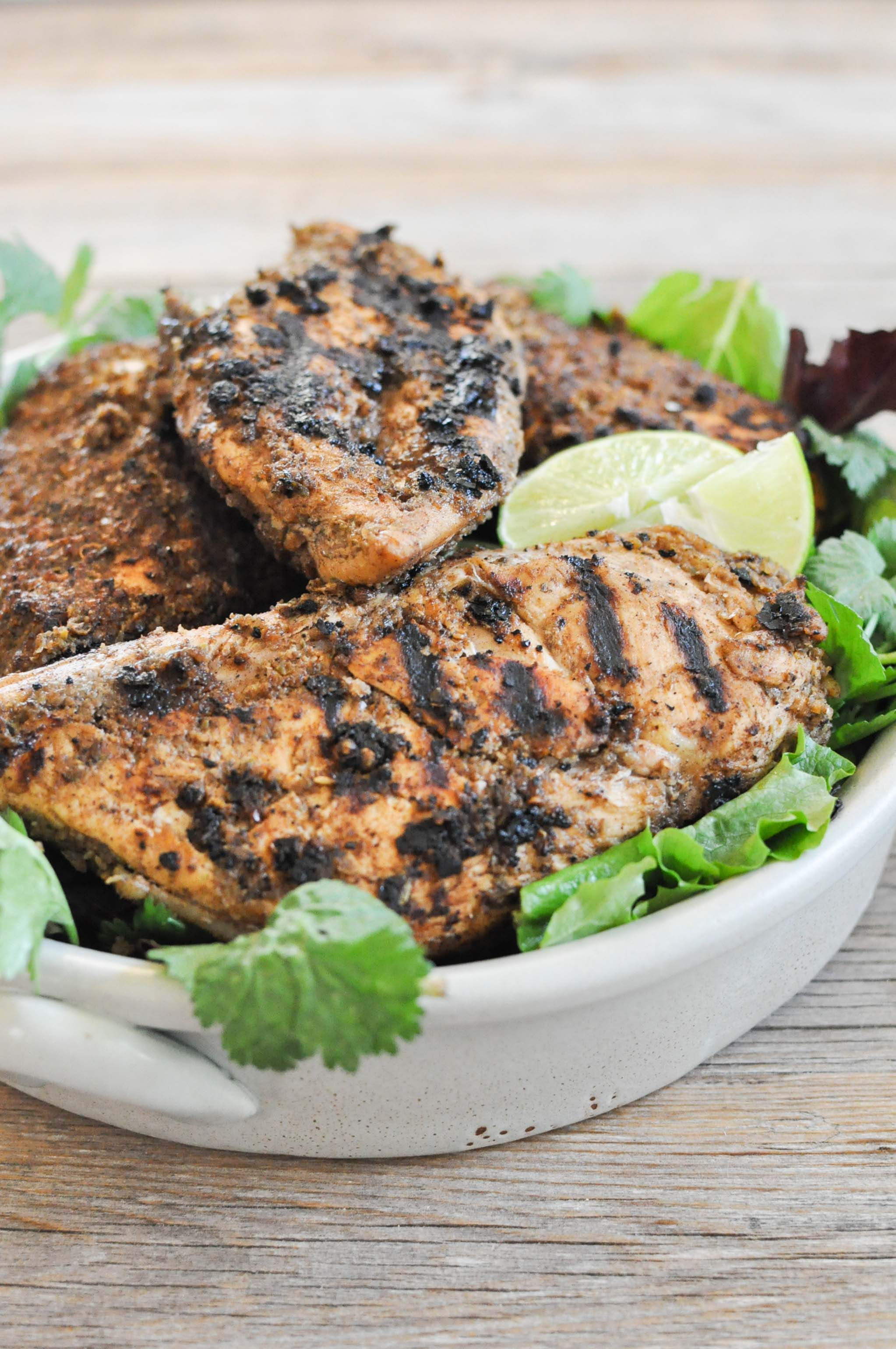 Paleo Jerk Chicken | Fed and Fit-3