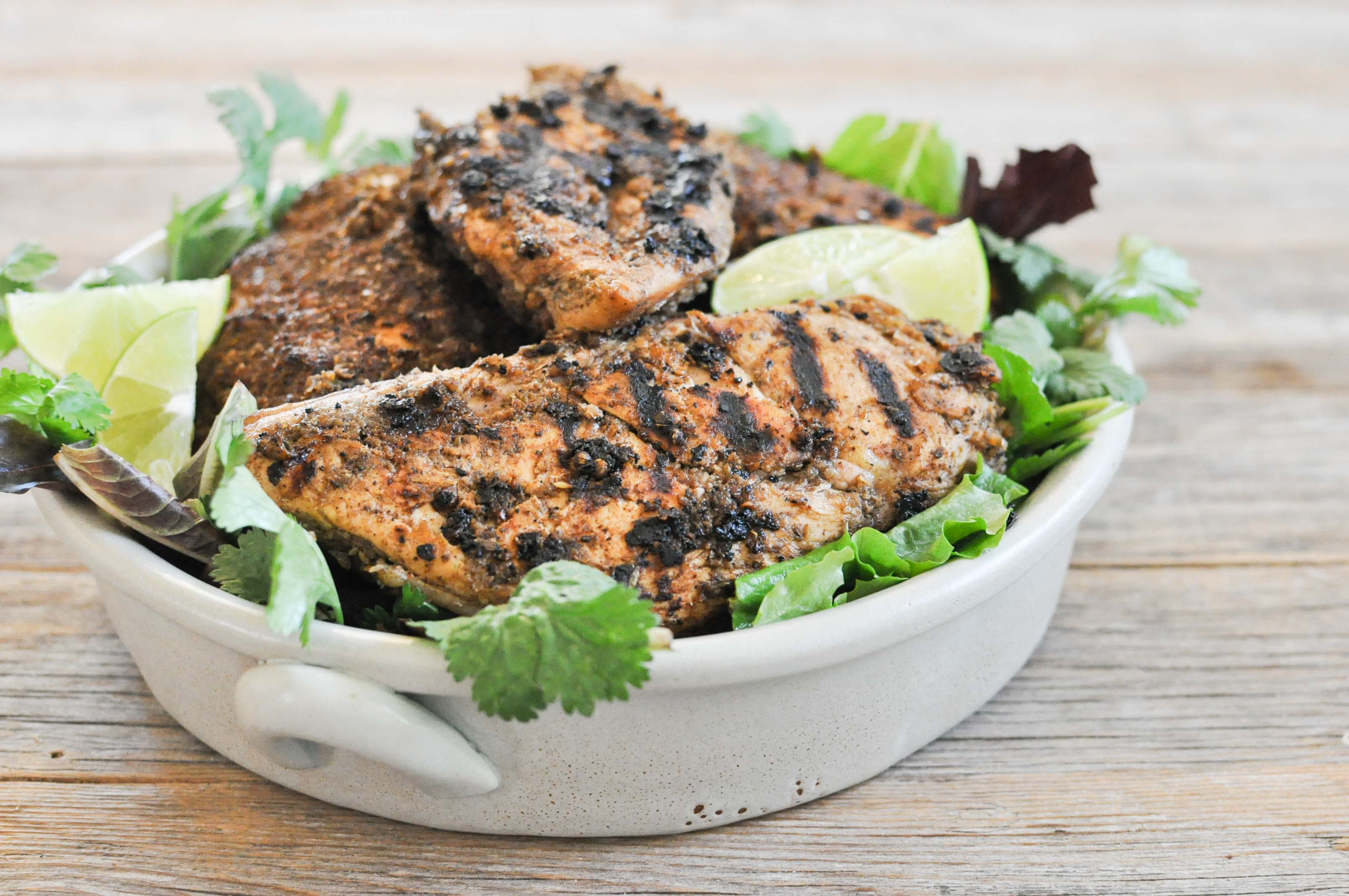 Paleo Jerk Chicken | Fed and Fit