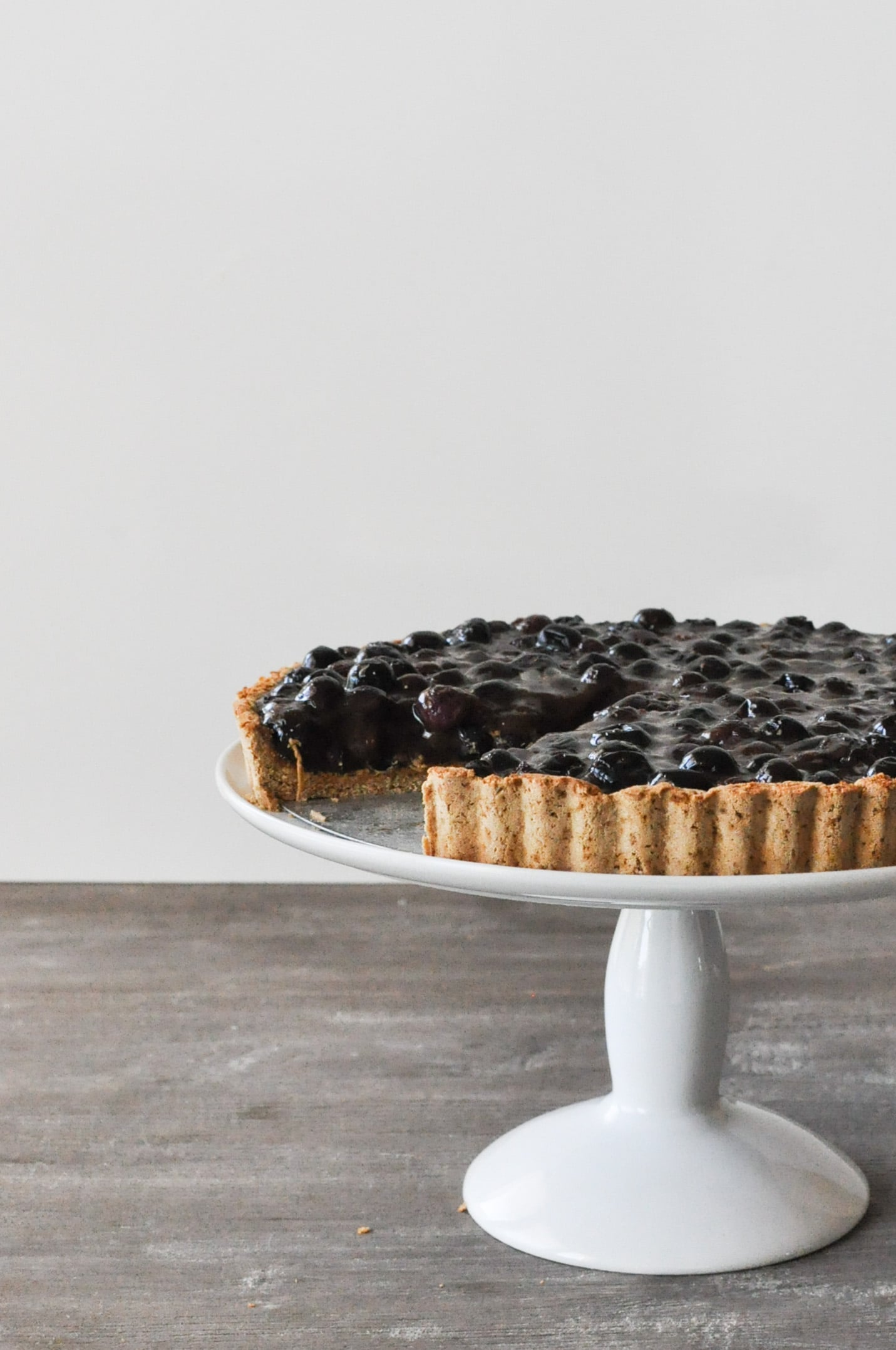 Blueberry Tart | Fed and Fit-2