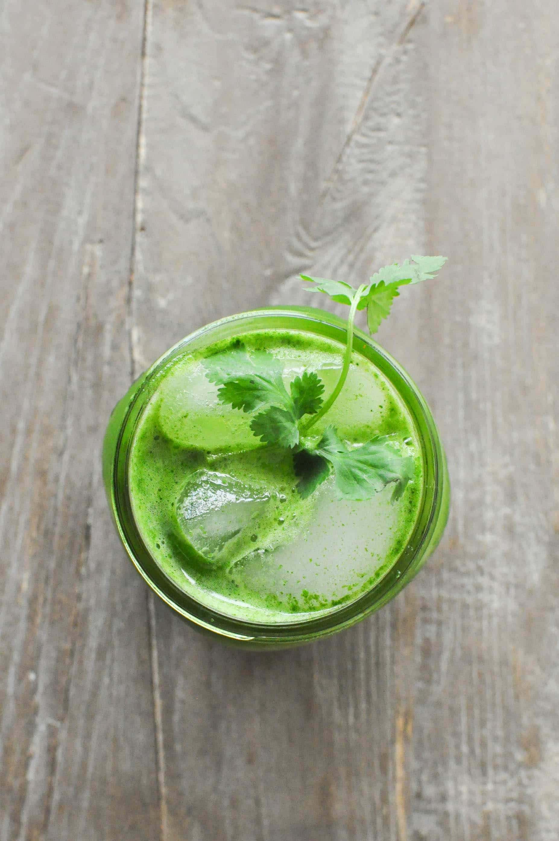 Lemon Ginger Green Juice | Fed+Fit-7