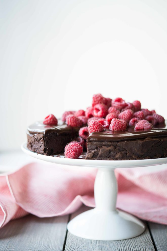 Flourless Chocolate Cake by Fed and Fit-7