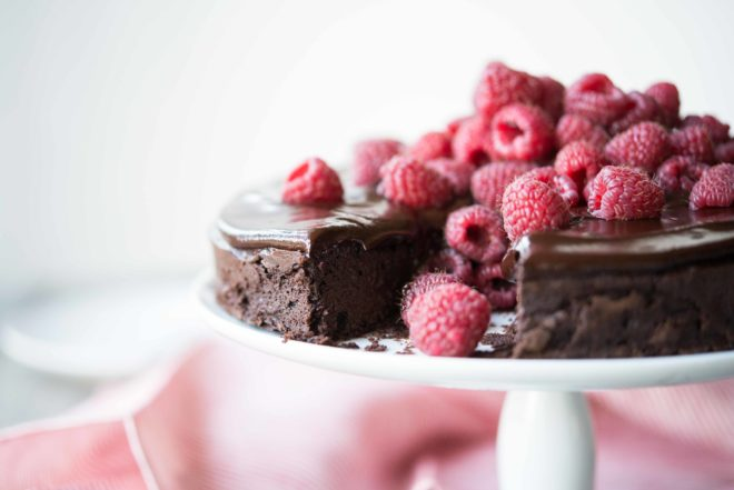 Flourless Chocolate Cake by Fed and Fit-8