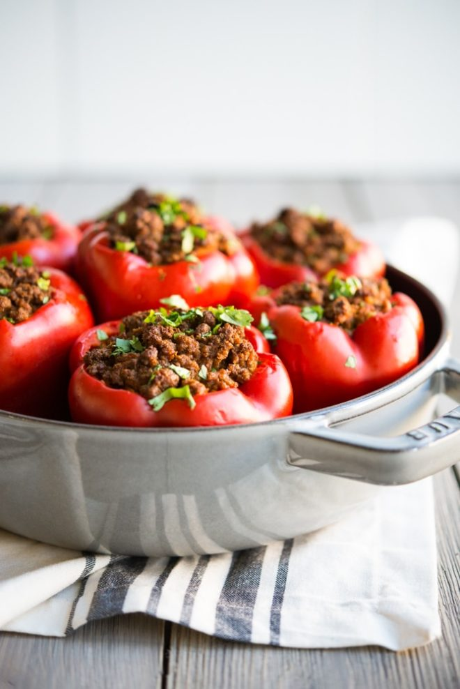 Curried Beef & Butternut Squash Stuffed Peppers-2