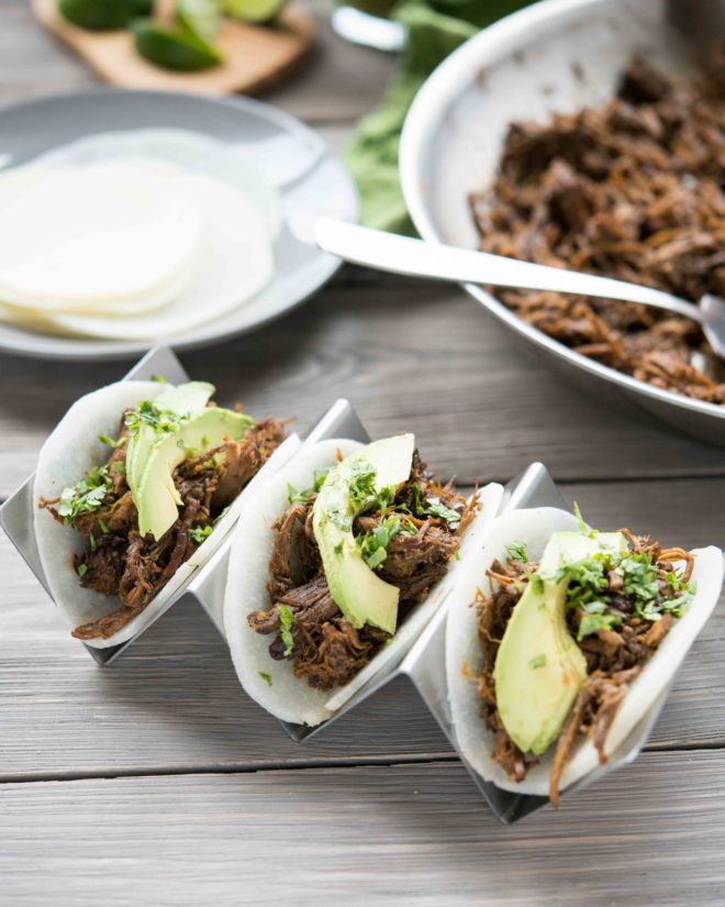 Slow Cooker Barbacoa with Jicama Tortillas-3