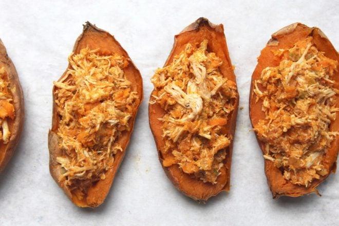 buffalo-chicken-twice-baked-sweet-potatoes-3
