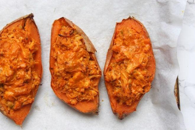 buffalo-chicken-twice-baked-sweet-potatoes-4