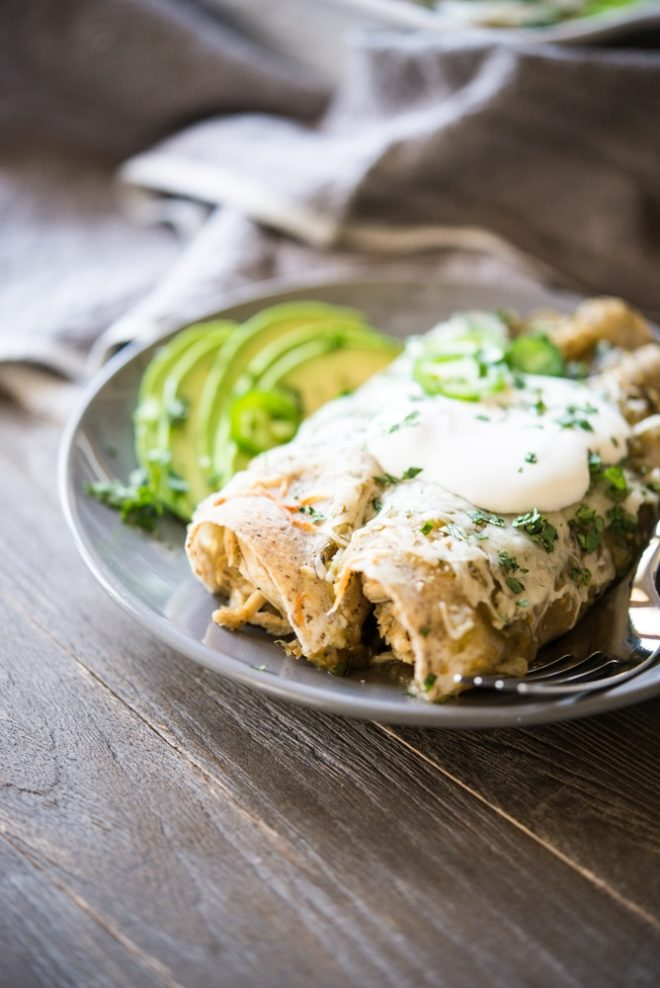 chicken-enchiladas-verde-fed-and-fit-3