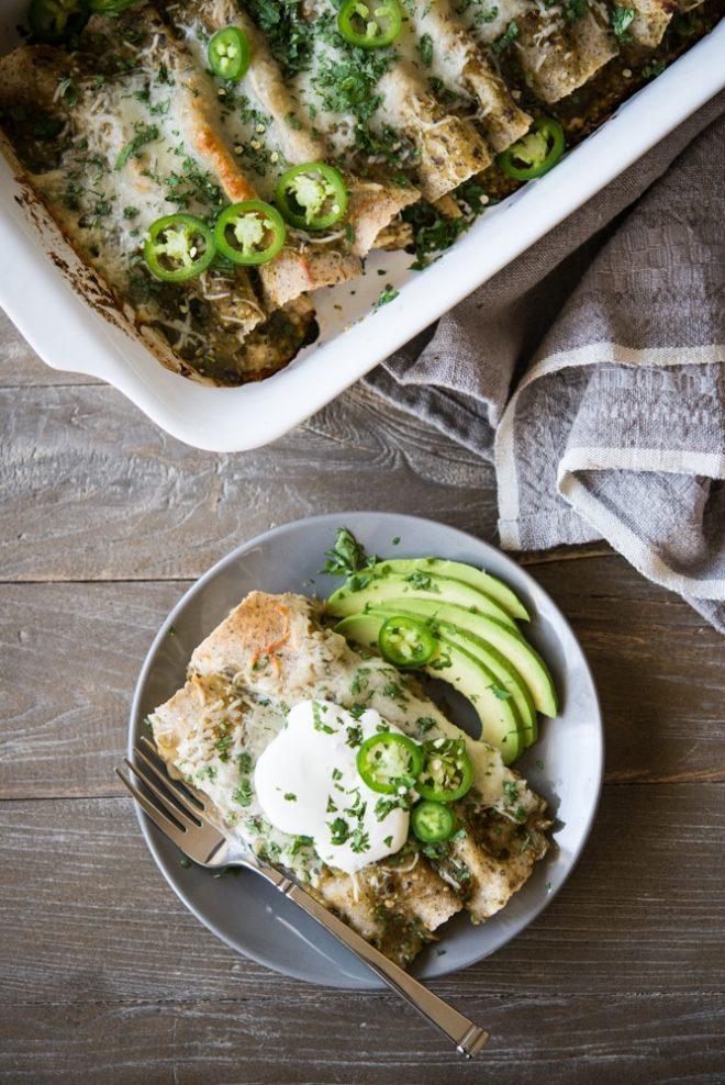 chicken-enchiladas-verde-fed-and-fit-4