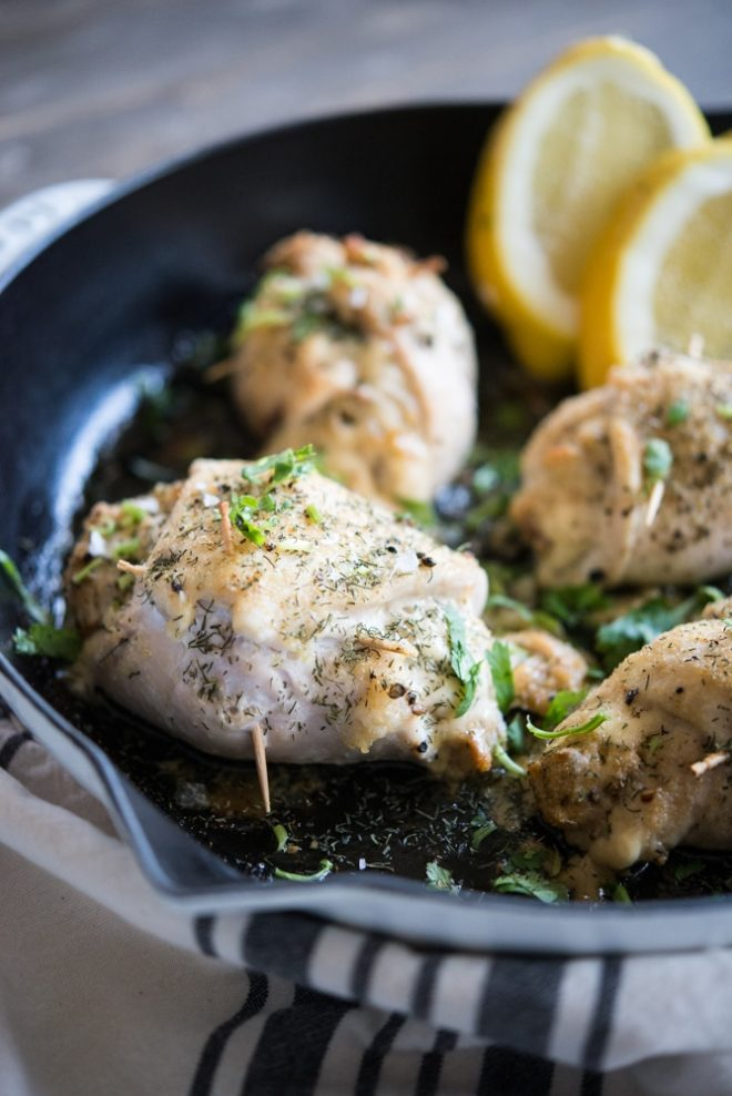 Crab Stuffed Chicken Breast Fed and Fit-3