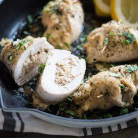 Crab Stuffed Chicken Breast