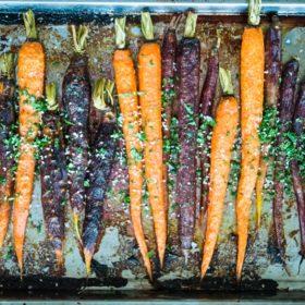 Ginger Orange Caramelized Carrots