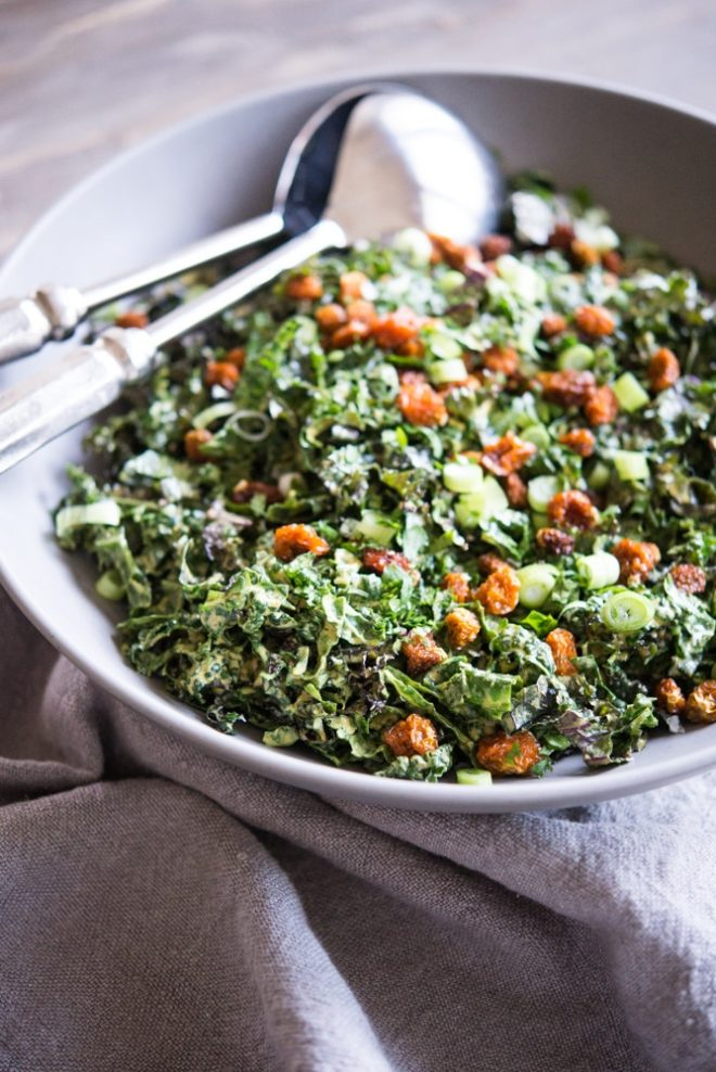 Curried Kale Salad Fed and Fit-2