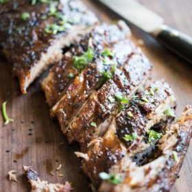 Paleo Chinese Sticky Ribs