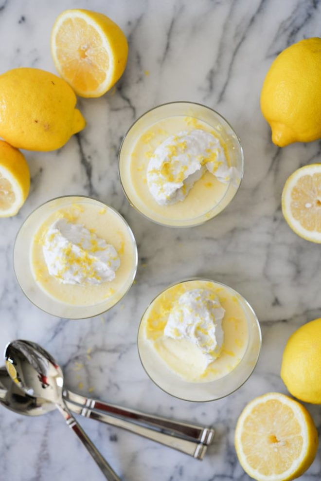 Lemon Curd Puddings Fed and Fit-2