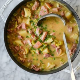 Spiced Ham & Potato Soup