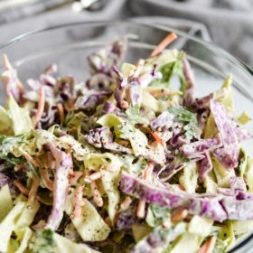 Chunky Mexican Coleslaw